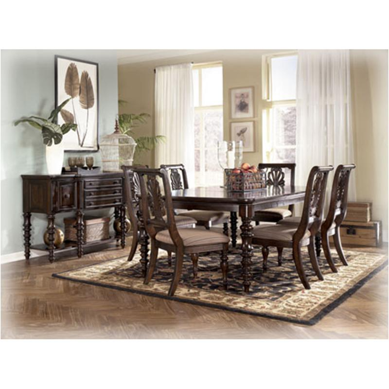 Ashley Furniture Formal Dining Sets d668-35 ashley furniture rectangular dining room ext table