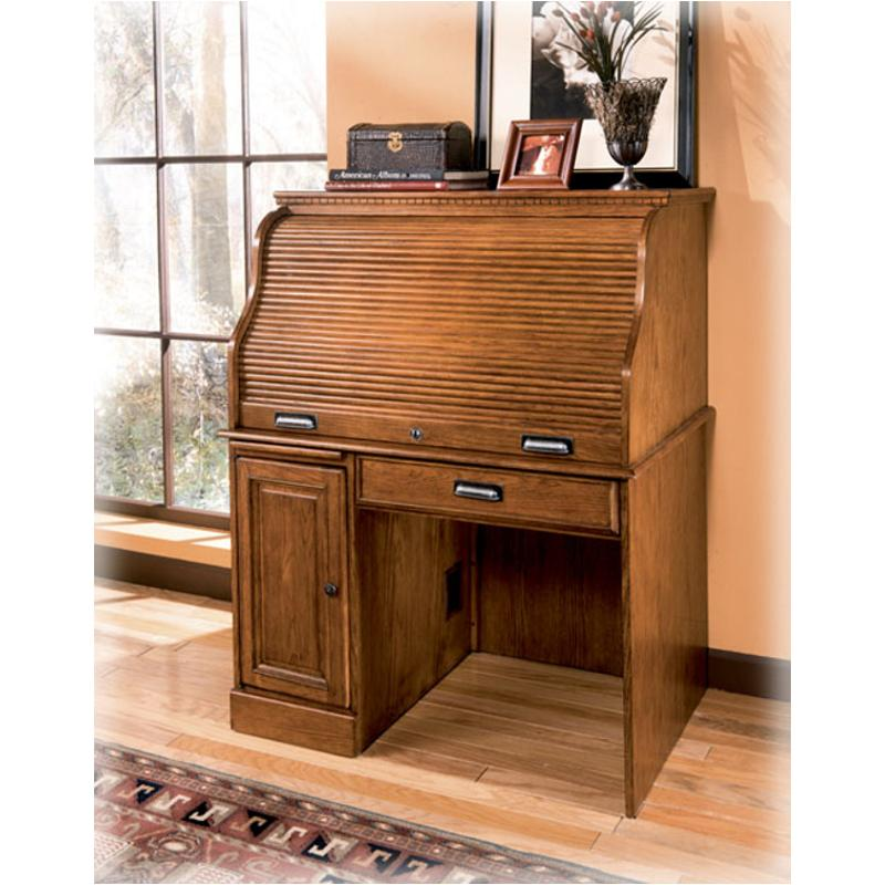 H214 23b Ashley Furniture Drake Roll Top Desk Base