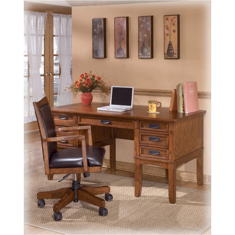 H319-26 Ashley Furniture Home Office Storage Leg Desk