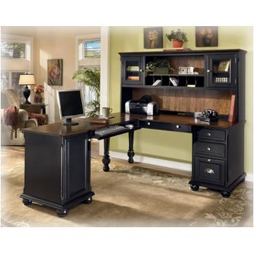 H42235h Ashley Furniture Brush Hollow Modular Desk Hutch