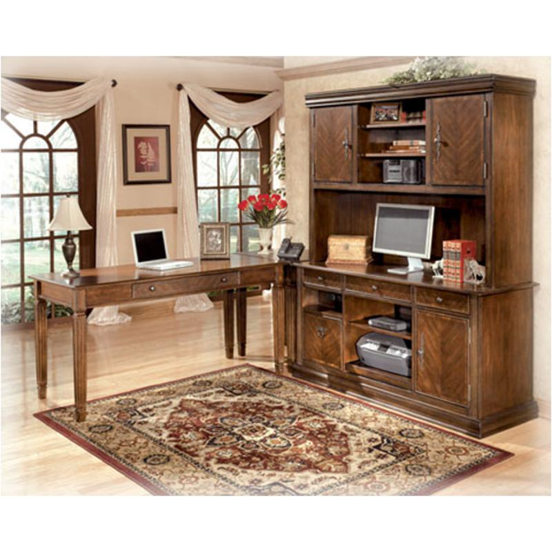 H527 49 Ashley Furniture Hamlyn Um Brown Home Office Desk