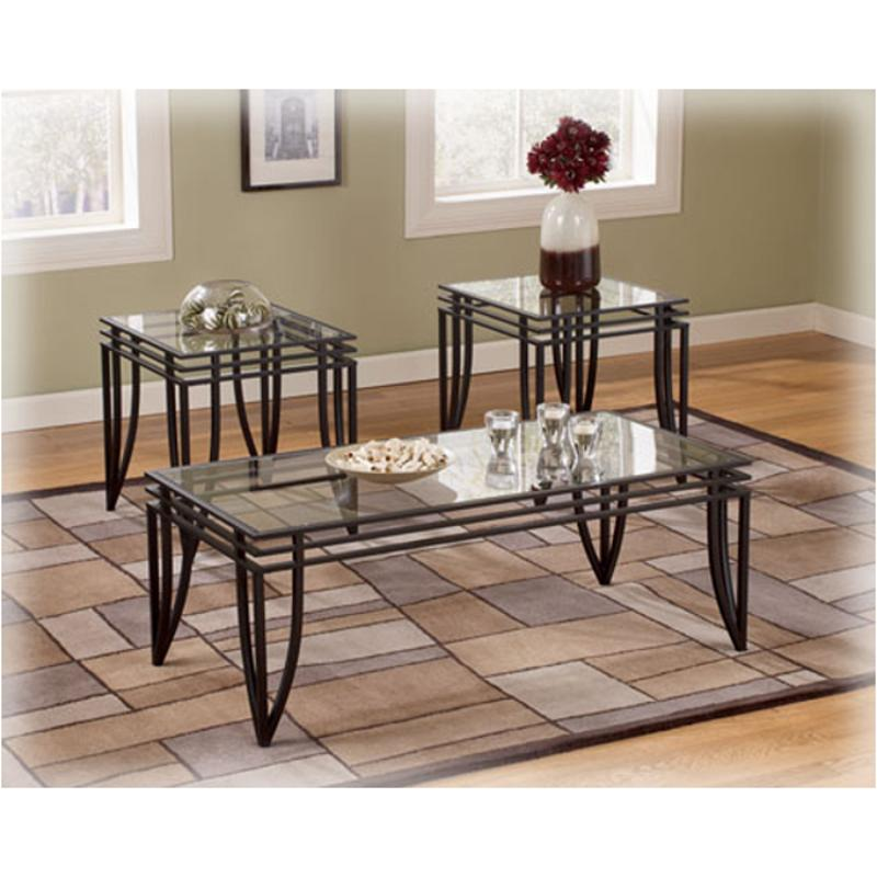 T173 23 Ashley Furniture Exeter Occasional Table Set