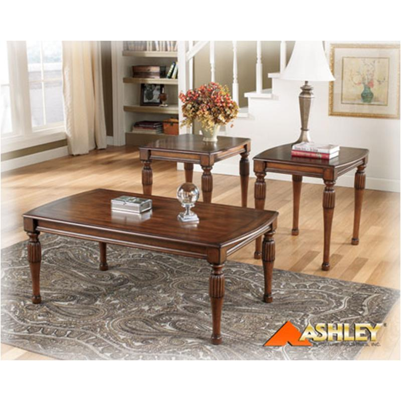 T236 13 Ashley Furniture Brookfield 3in1 Pk Brown Finish