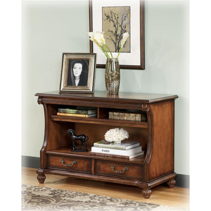 T489-4 Ashley Furniture Shelton - Dark Brown Sofa Table