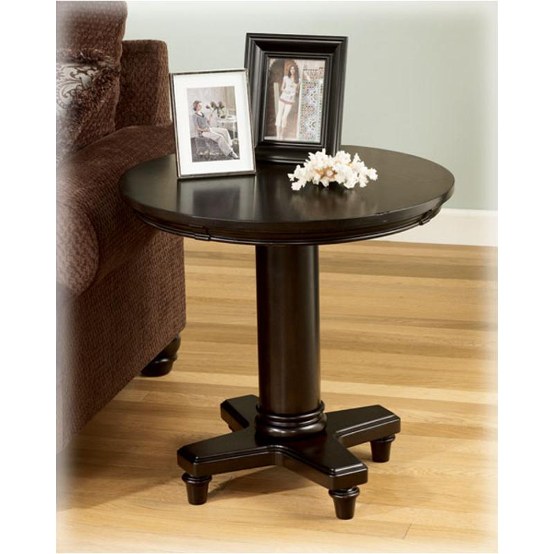 T518-6 Ashley Furniture Marcella Living Room Round End Table