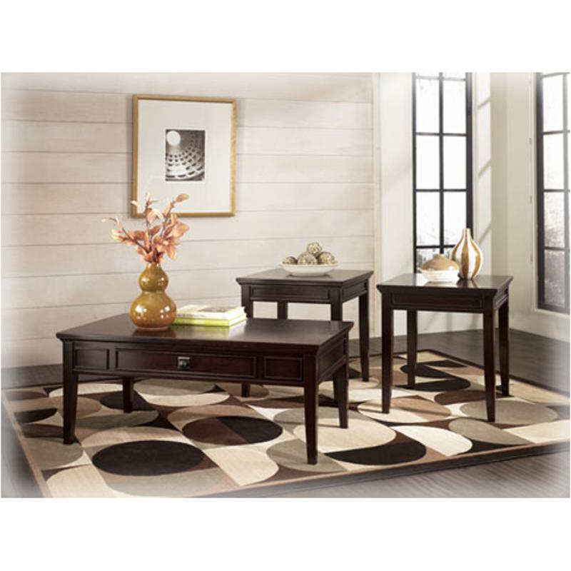 T651 13 Ashley Furniture Martini Suite Occasional Table Set