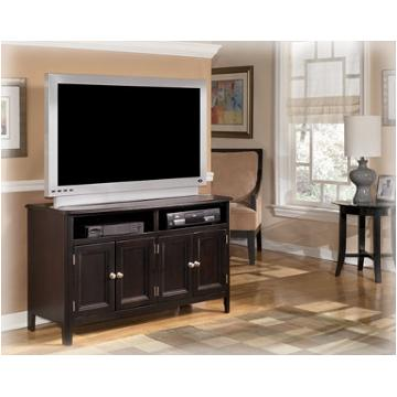 W371 28 Ashley Furniture Carlyle Almost Black Medium Tv Stand