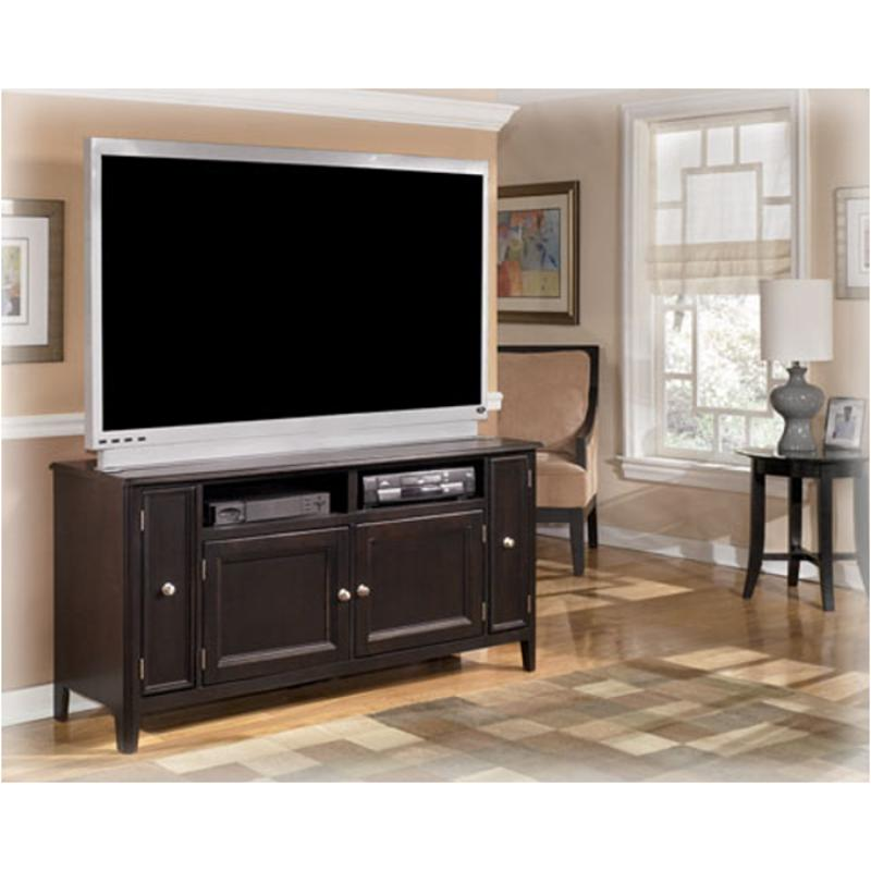 W371 38 Ashley Furniture Carlyle Almost Black Large Tv Stand
