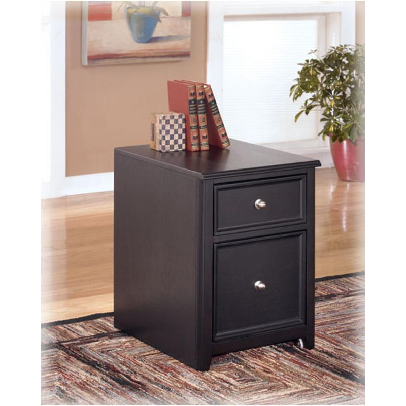 H371-12 Ashley Furniture Carlyle - Black Home Office File ...