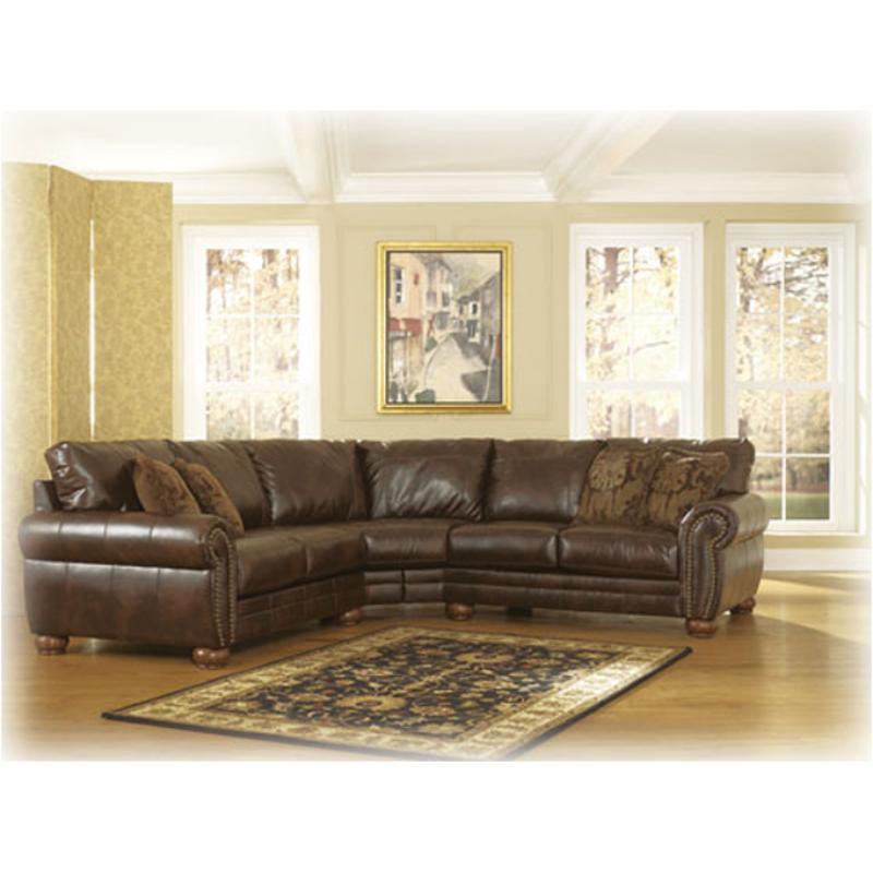 2130055 Ashley Furniture Walcot Durablend Antique Laf Loveseat