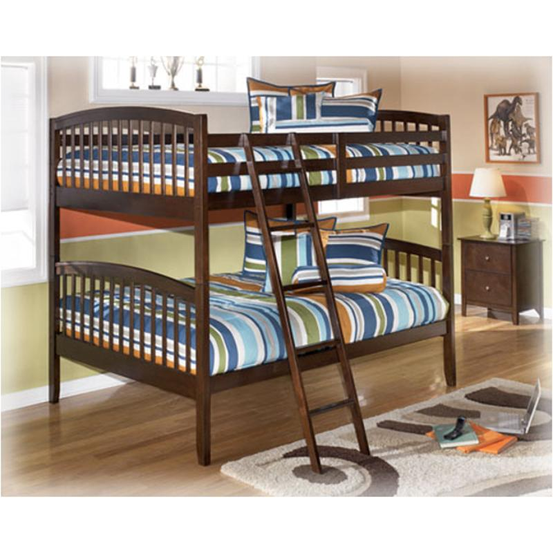 b45159p ashley furniture nico kids room full bunk bed