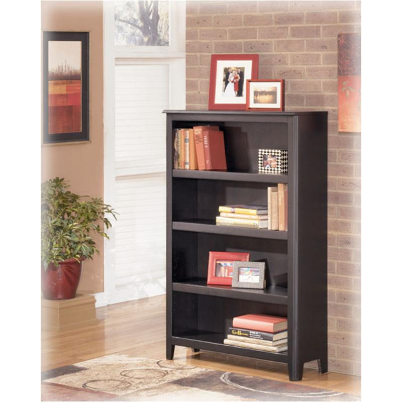 H371 16 Ashley Furniture Carlyle Black Home Office Bookcase