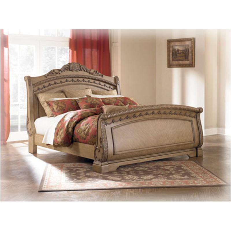 B657 77 Ashley Furniture Queen Upholstered Bed: B547-77 Ashley Furniture South Coast Bedroom Queen Sleigh Bed