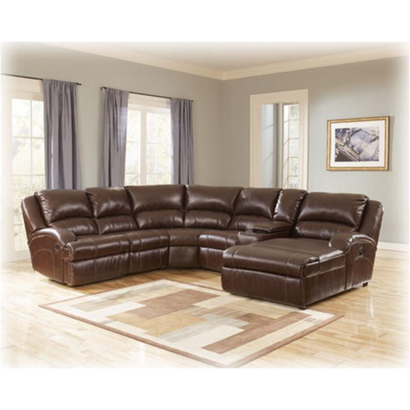 5180107 Ashley Furniture Durablend - Harness Living Room Sectional  sc 1 st  Home Living Furniture : ashley leather sectional with chaise - Sectionals, Sofas & Couches
