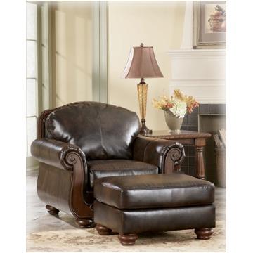 5530014 Ashley Furniture Barcelona Antique Living Room Ottoman