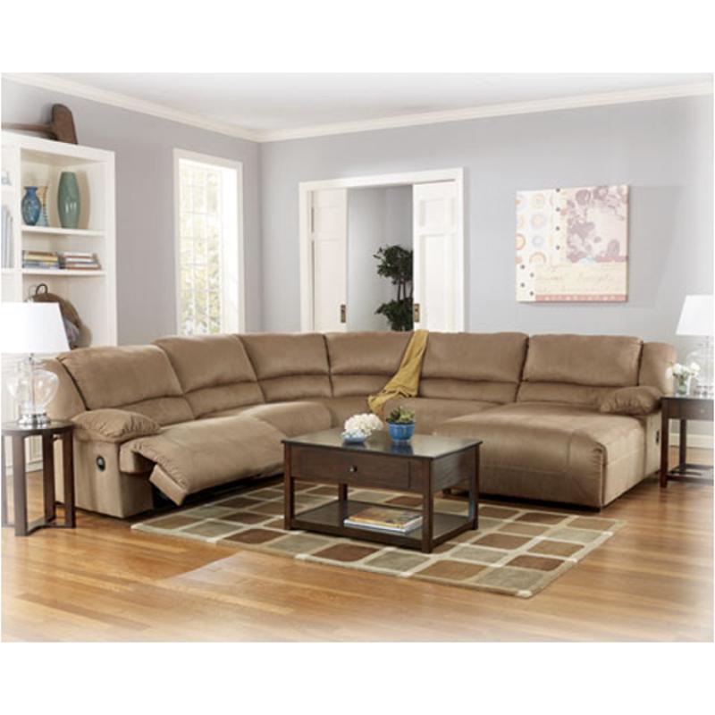 5780277 Ashley Furniture Hogan Mocha Living Room Sectional