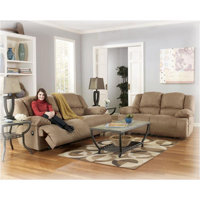 5780286 Ashley Furniture Hogan Mocha Reclining Loveseat