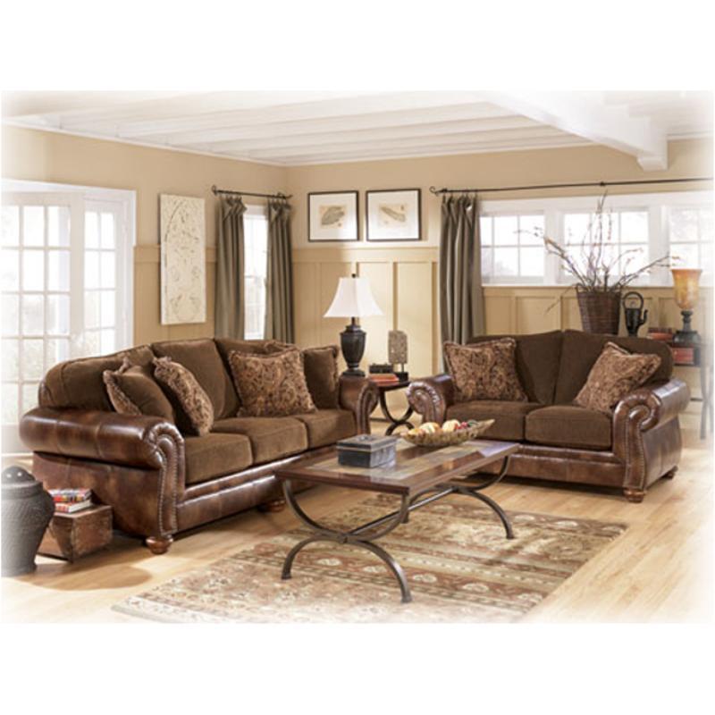 5980135 Ashley Furniture Harrington   Truffle Living Room Loveseat
