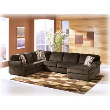 6840417 Ashley Furniture Vista Chocolate Raf Corner Chaise