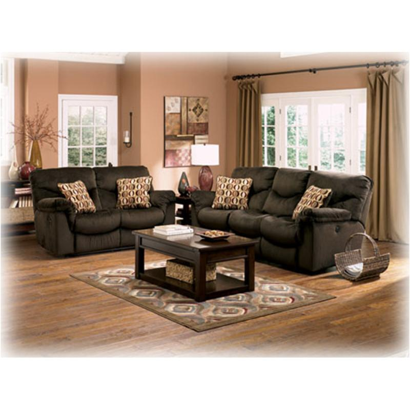 Remarkable 6860086 Ashley Furniture Motivation Chocolate Reclining Loveseat Ibusinesslaw Wood Chair Design Ideas Ibusinesslaworg