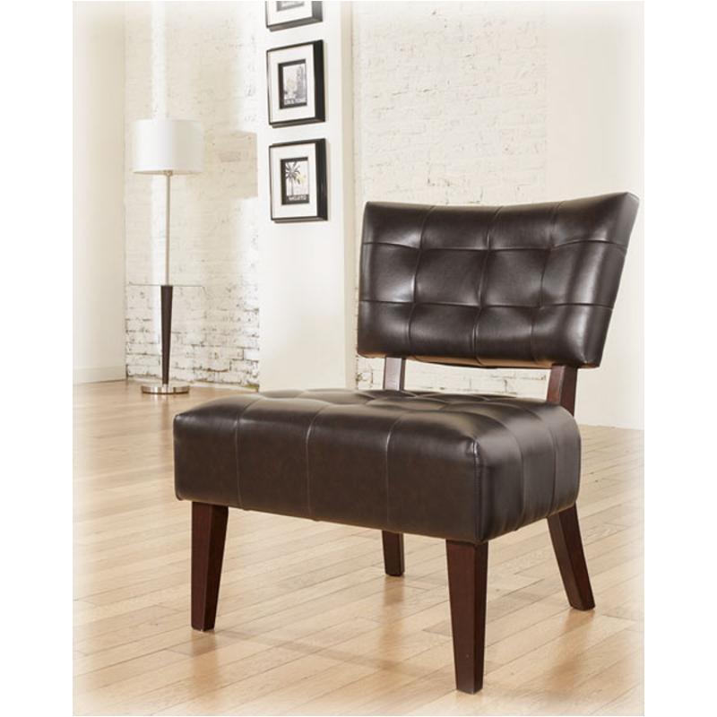 7540360 Ashley Furniture Matrix   Chocolate Accent Accent Chair
