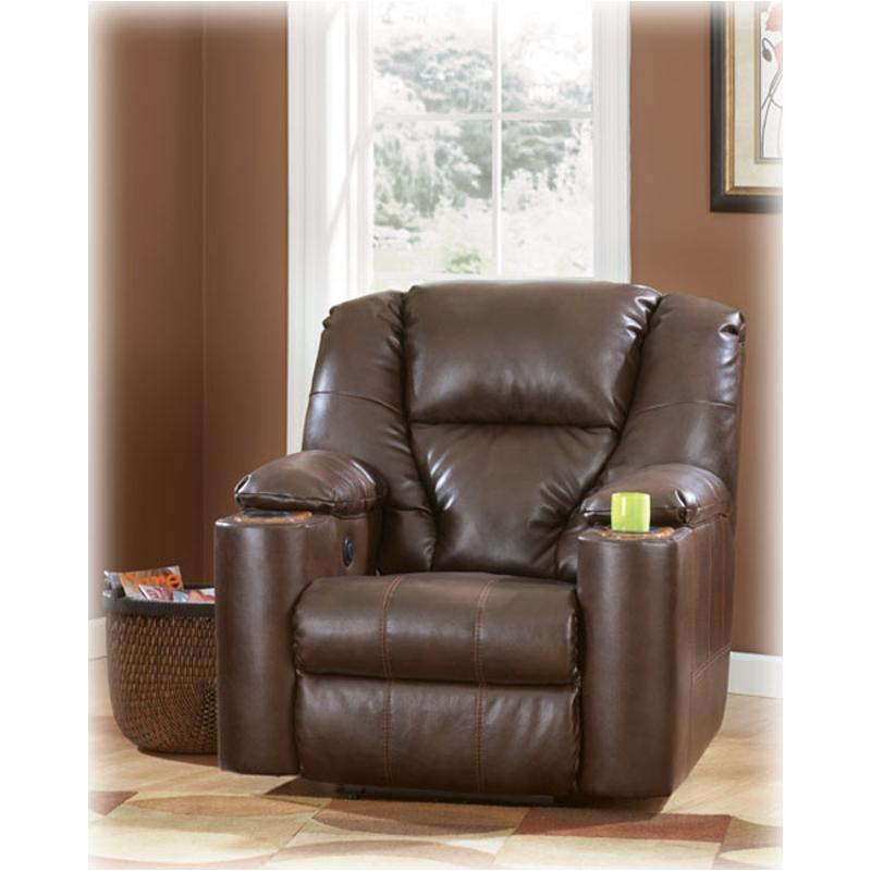 7640106 Ashley Furniture Paramount Durablend   Brindle Living Room Recliner