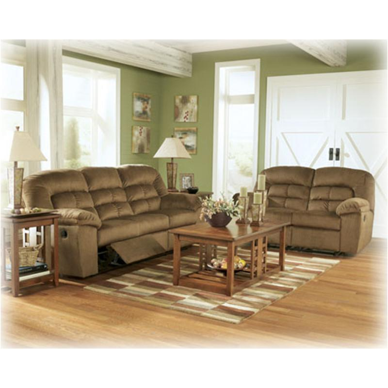 8540586 Ashley Furniture Comfort Zone - Pecan Reclining ...