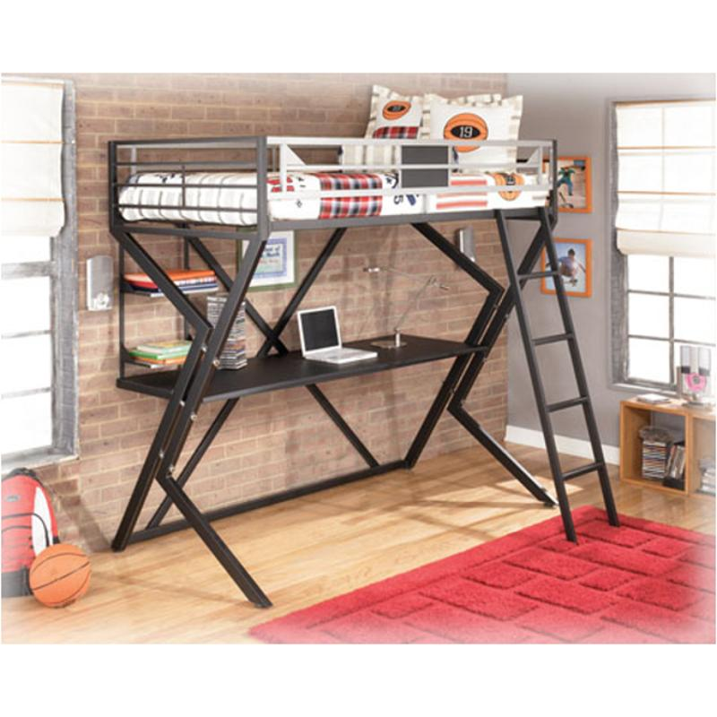 ... Twin Loft Bed With Desk. B106 60 Ashley Furniture Dinsmore Kids Room Bed