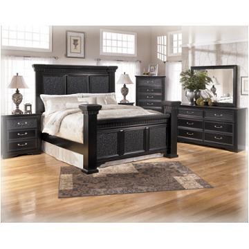 B291 31 Ashley Furniture Cavallino Black Bedroom Dresser