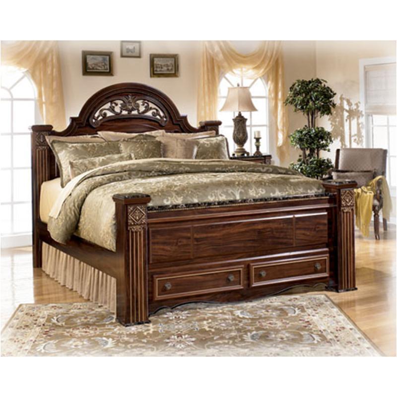 B347-50 Ashley Furniture Gabriela Queen Footboard Storage Box