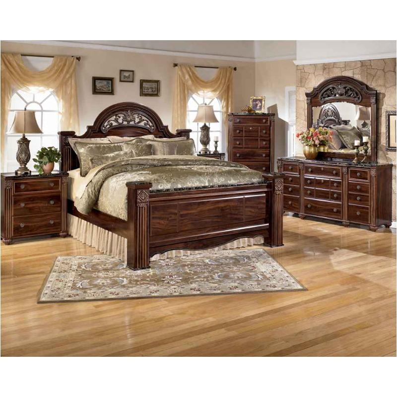 B347 68 Ashley Furniture Gabriela Bedroom Bed