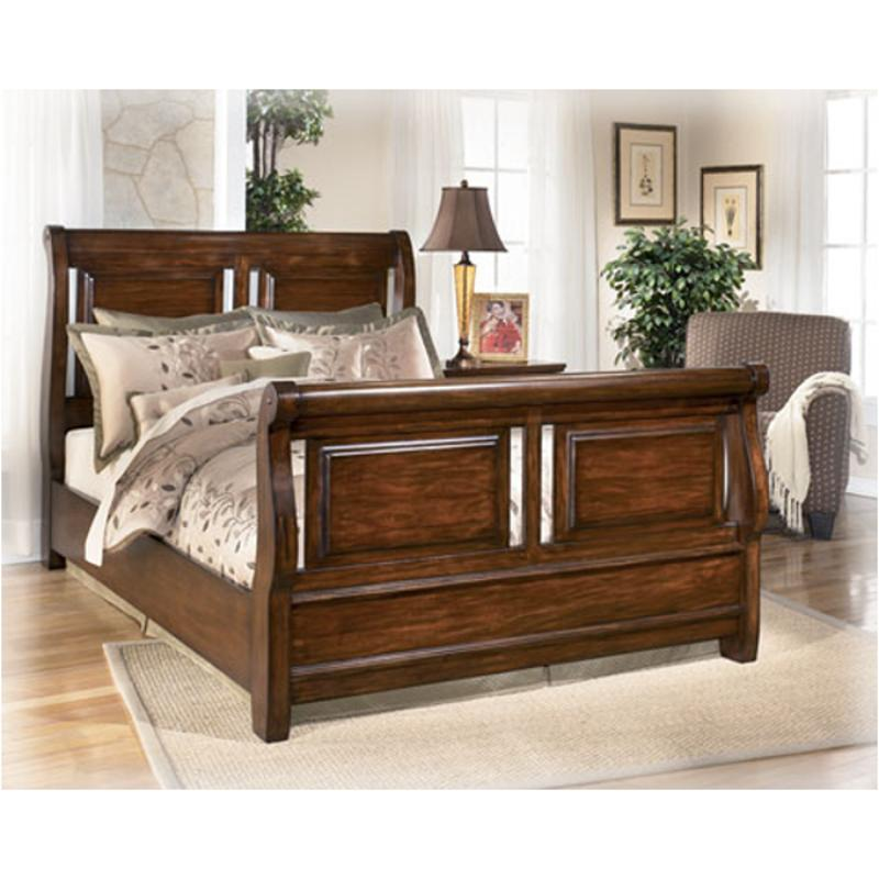 B657 77 Ashley Furniture Queen Upholstered Bed: B542-77 Ashley Furniture Larchmont Ii Bedroom Queen Sleigh Bed