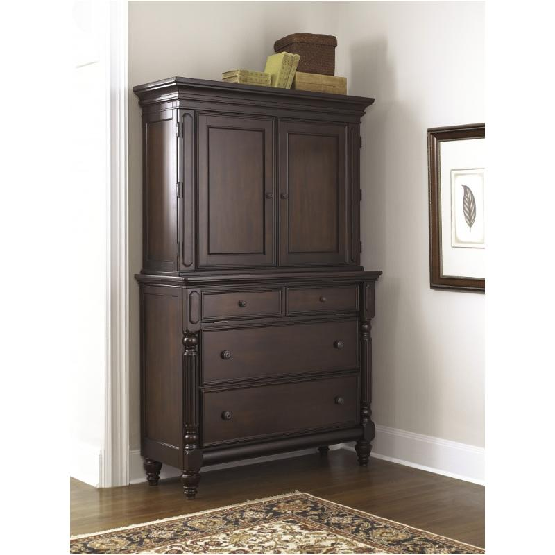 B668-40 Ashley Furniture Key Town Bedroom Media Chest Hutch