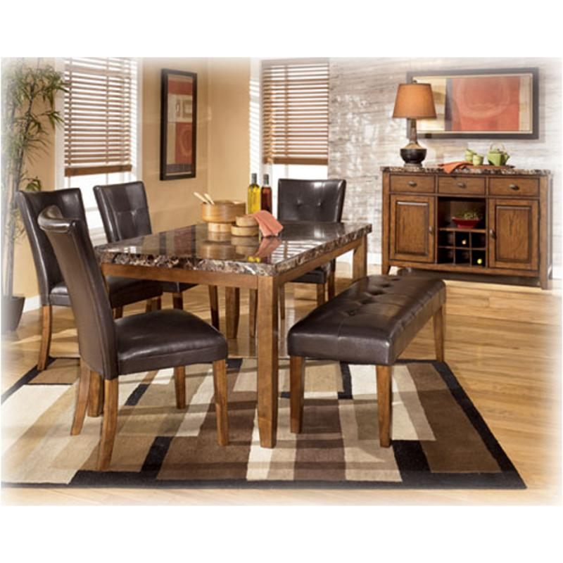 D328-00 Ashley Furniture Lacey - Medium Brown Large Upholstered Dining Room  Bench