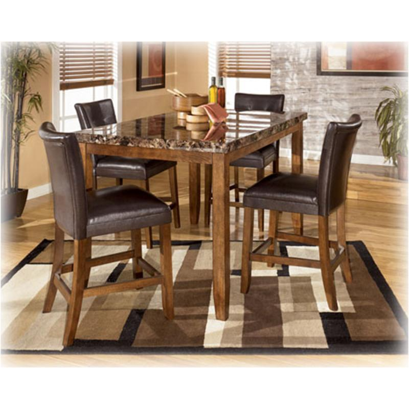 D328 32 Ashley Furniture Lacey Dining Room Counter Height Table