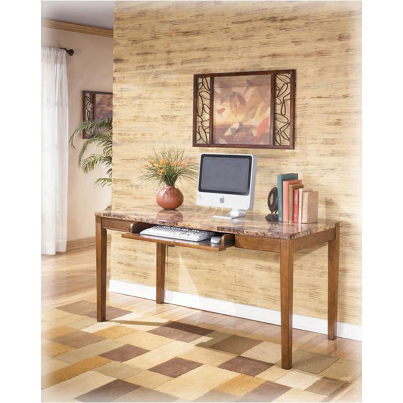 H158 44 Ashley Furniture Theo Home Office Large Leg Desk