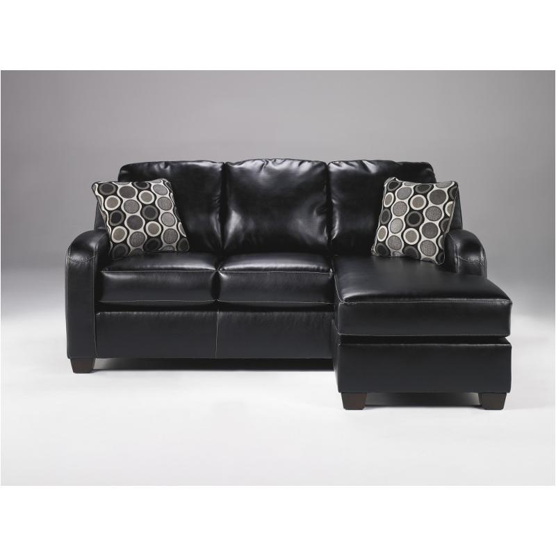 1310218 Ashley Furniture Devin Durablend   Black Living Room Sofa