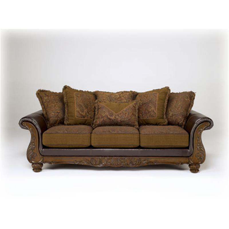 Remarkable 3460238 Ashley Furniture Wilmington Walnut Sofa Walnut Home Interior And Landscaping Palasignezvosmurscom