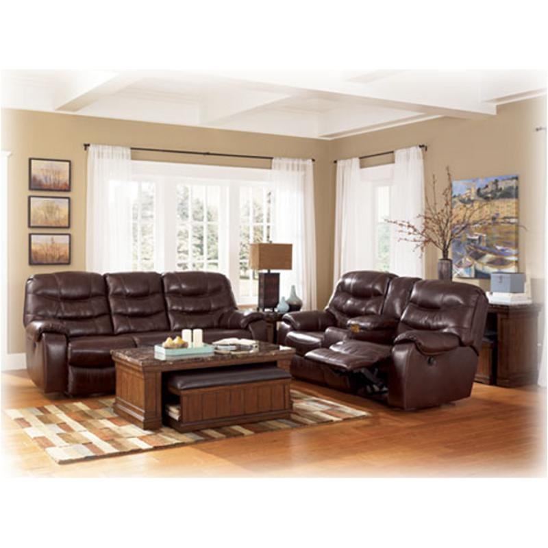 Excellent 4280094 Ashley Furniture Rourke Burgundy Double Recliner Loveseat W Console Inzonedesignstudio Interior Chair Design Inzonedesignstudiocom