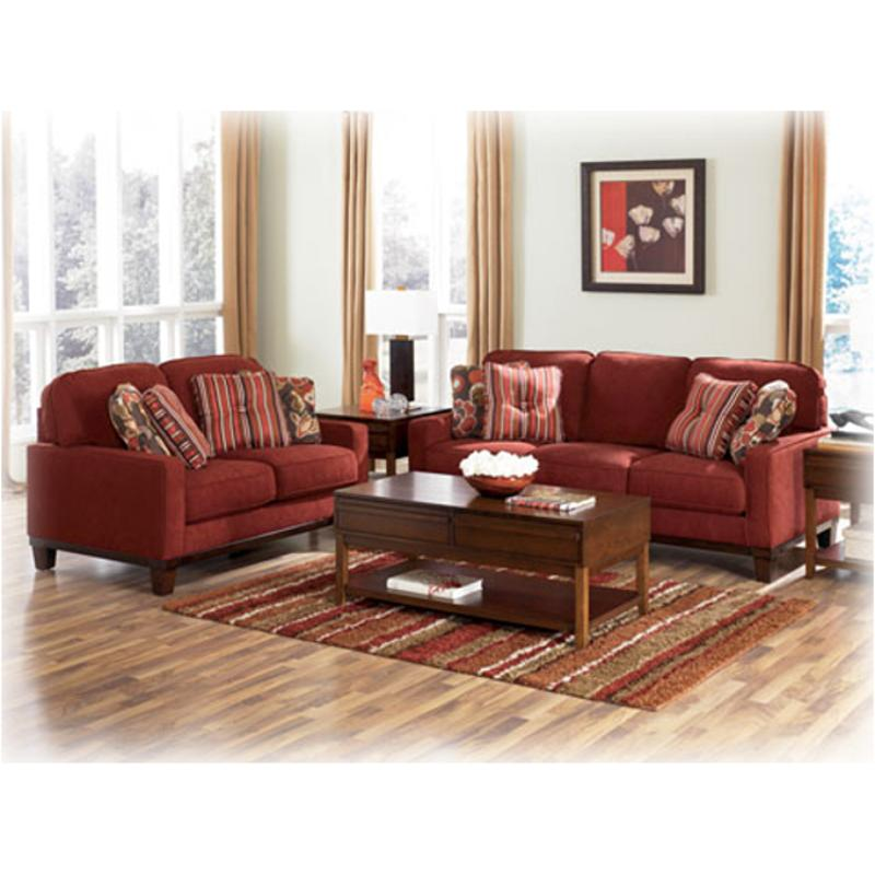5100035 Ashley Furniture Darby Spice Living Room Loveseat