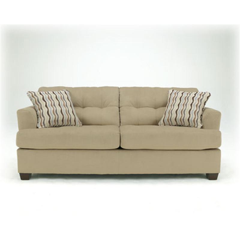 Ashley Furniture Dallas - Khaki Living Room Sofa