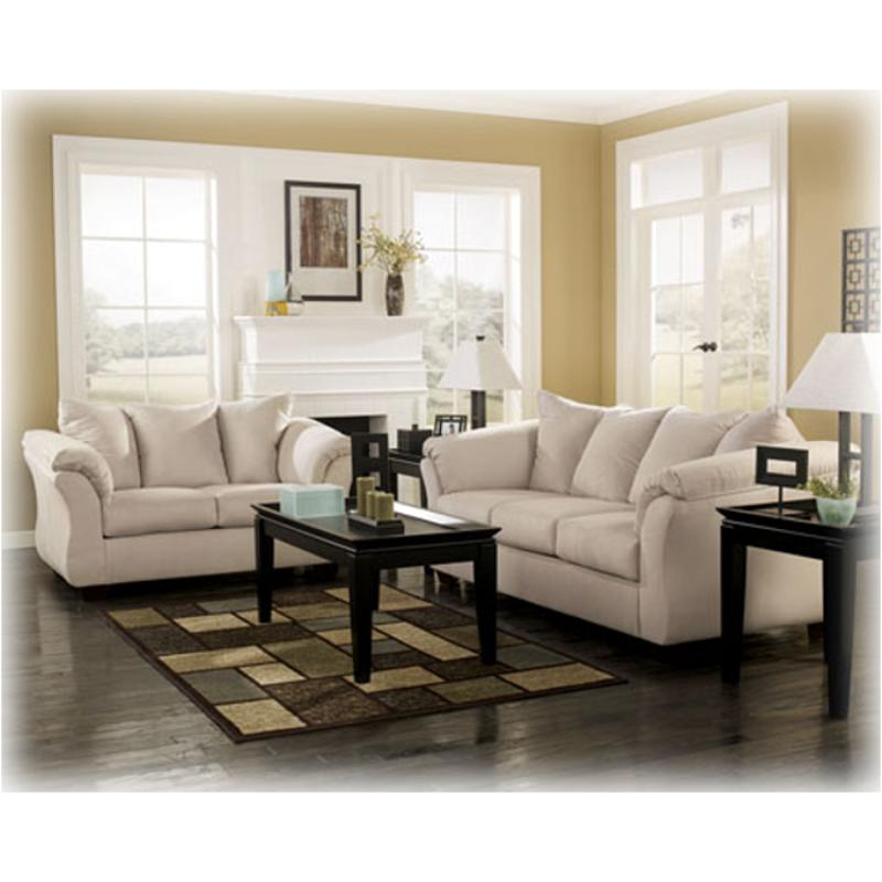 Fabulous 7500035 Ashley Furniture Darcy Stone Loveseat Pdpeps Interior Chair Design Pdpepsorg
