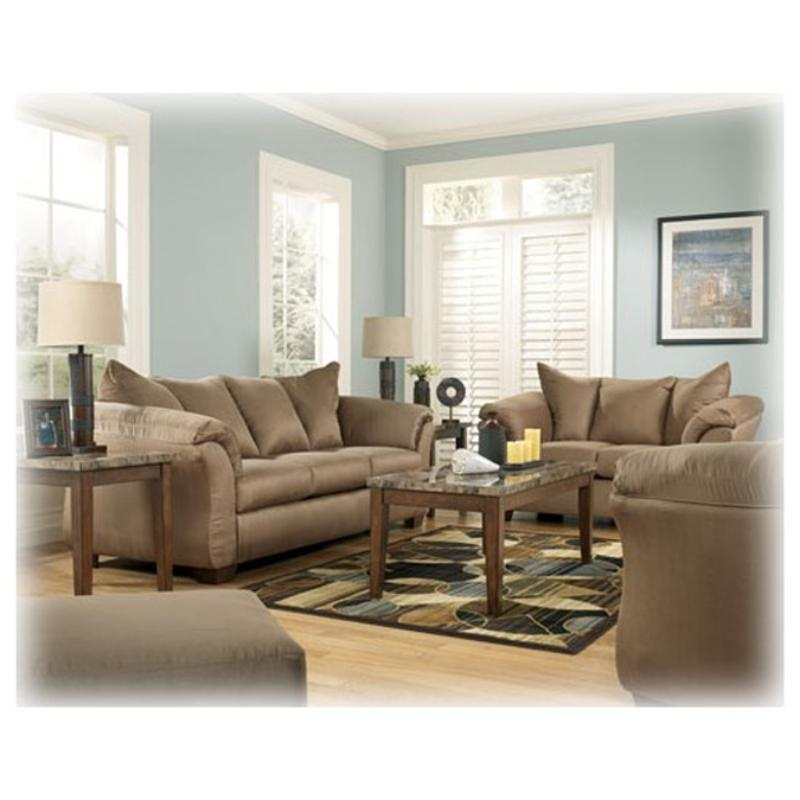 Fabulous 7500238 Ashley Furniture Darcy Mocha Sofa Home Remodeling Inspirations Basidirectenergyitoicom