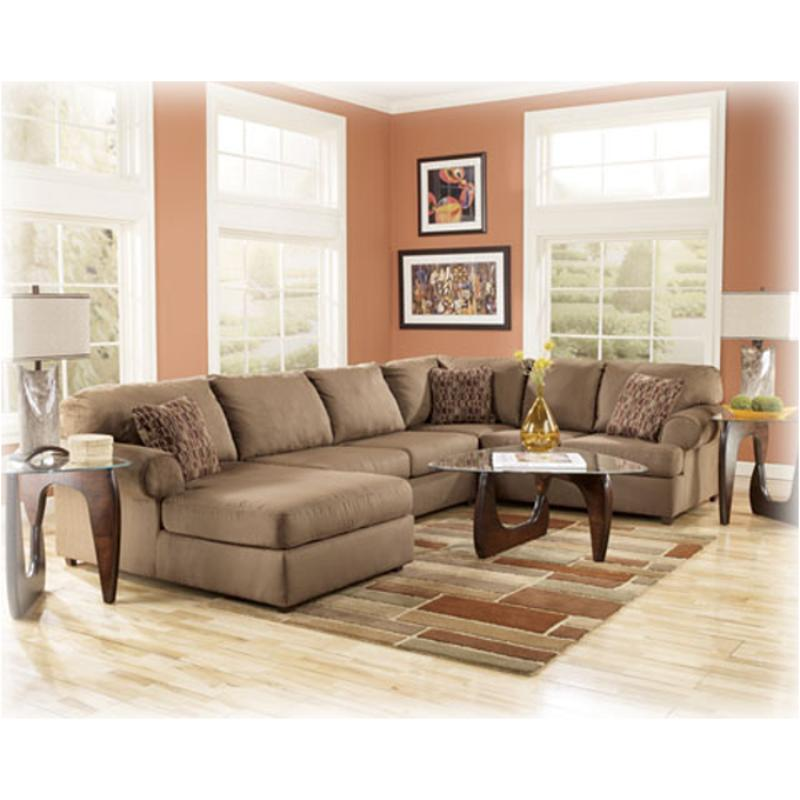 Brody Mocha Laf Sofa Sectional