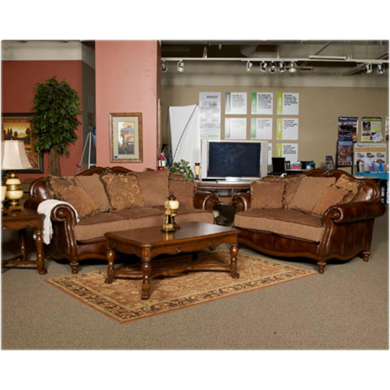 Ashley Furniture Claremore - Antique Living Room Loveseat