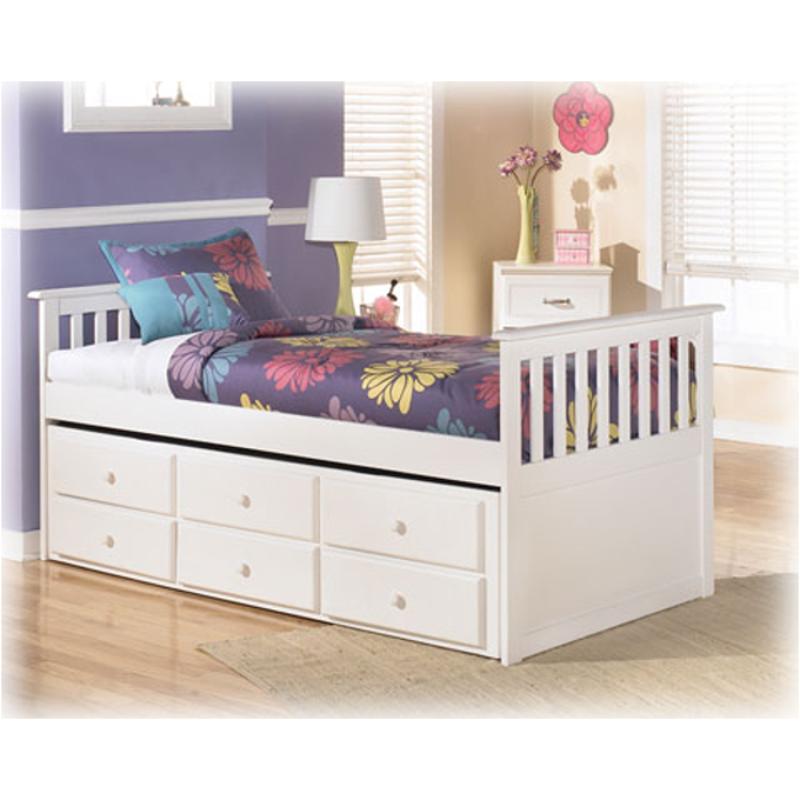 B102 50t Ashley Furniture Lulu Bedroom Bed Twin Trundle Frame