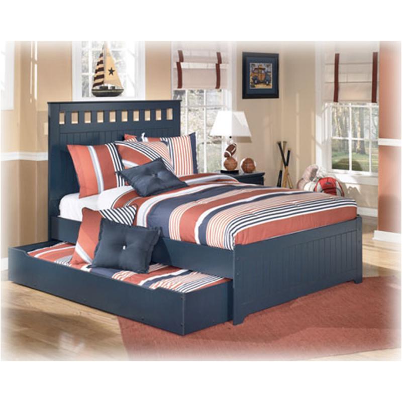 Blue Trundle Under Bed Storage