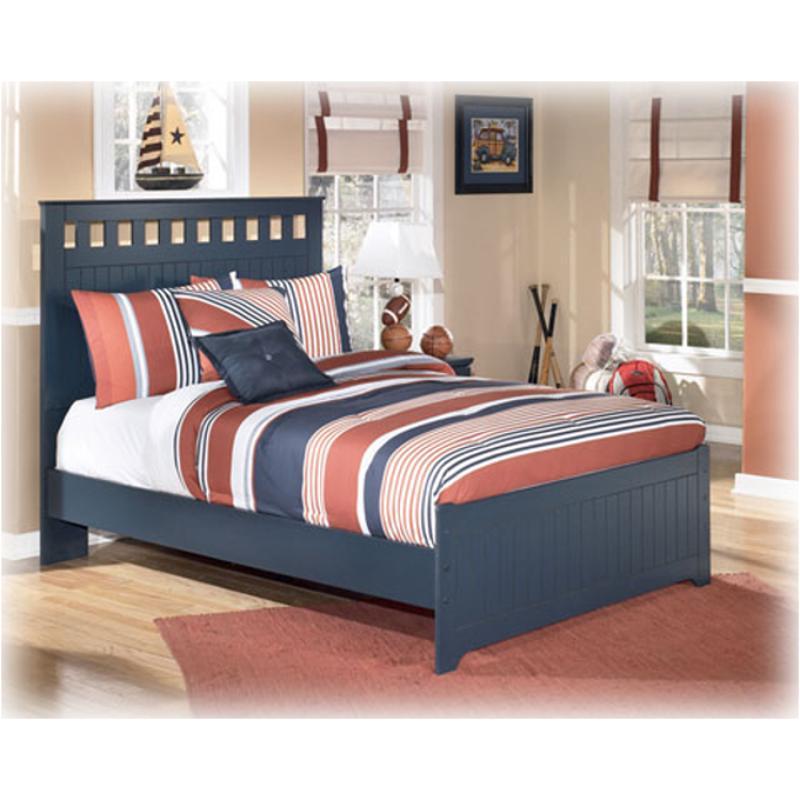 B103 86 Ashley Furniture Leo Blue Bedroom Bed