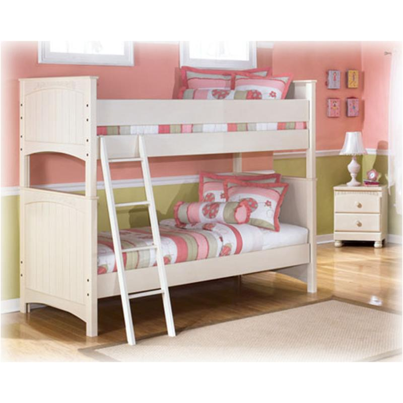 cottage retreat bedroom set b213 058 furniture bunk bed 2 required 15027