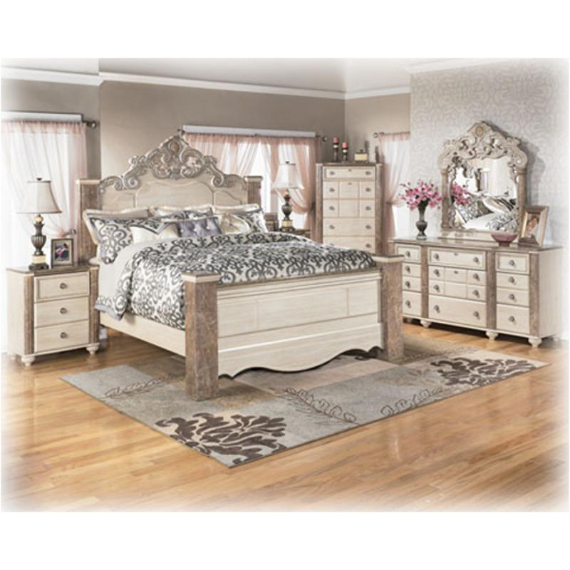 Ashley furniture millennium bedroom set north shore queen for Ashley furniture bedroom sets